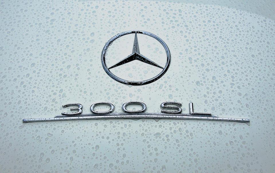 1957 MERCEDES BENZ 300 SL,1957 Mercedes 300SL Roadster  Chassis no. 198 042 7500544 Engine no. 198 980 5500599