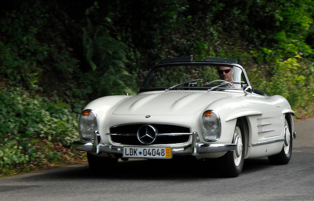1957 MERCEDES BENZ 300 SL,1957 Mercedes 300SL Roadster  Chassis no. 198 042 7500544 Engine no. 198 980 5500599