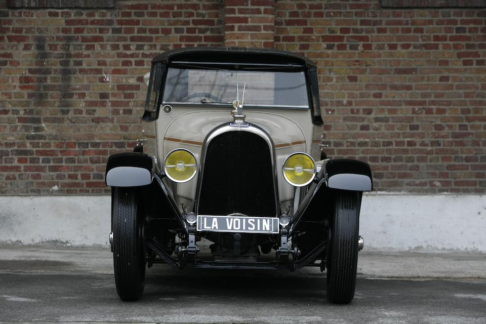Only 32,000 kilometres from new,1926 Voisin C7 'Lumineuse' Saloon  Chassis no. 15262