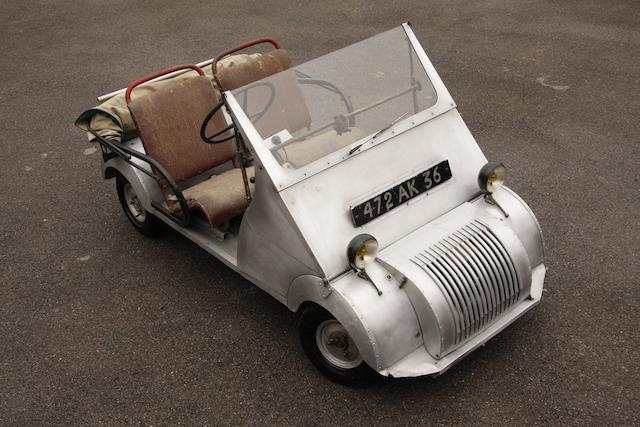 Formerly the property of Gabriel Voisin,1951 Voisin Biscúter  Chassis no. 06