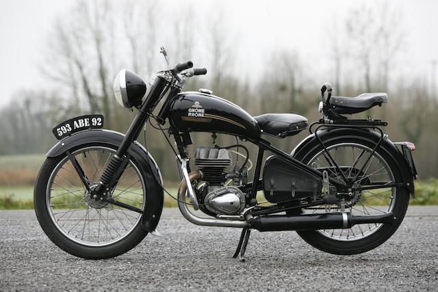 1950 Voisin Gnome et Rhône 125cc R4  Chassis no. 525061 Engine no. 525061