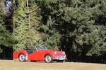 1960 Triumph TR3A Roadster  Chassis no. TS55547L