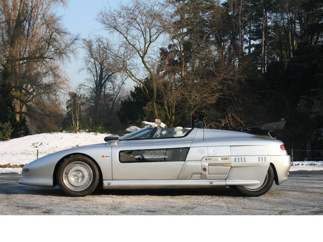 65 kilometres from new,1993 Italdesign Aztec Barchetta  Chassis no. ZA9T1P03A00D50018