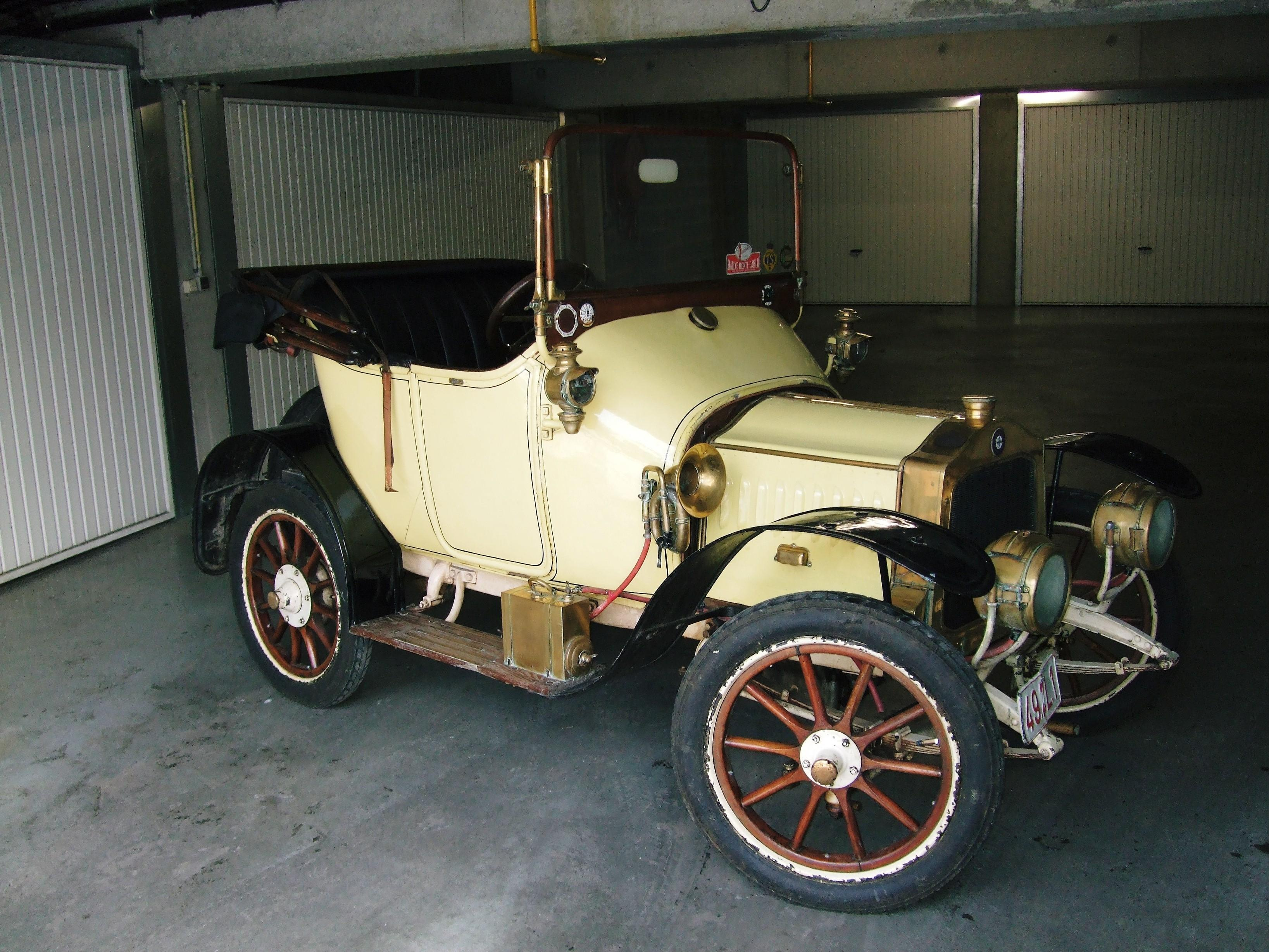 1911 De Dion Bouton 6hp Tourer Engine no. 27274