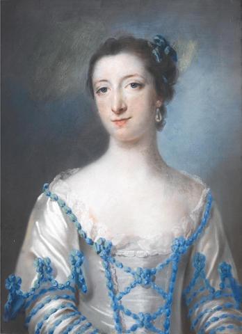 Francis Cotes, R.A. (London 1726-1770) Harriet Ashley Cowper