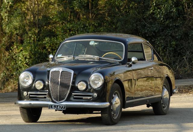 The ex-Turin Motor Show,1955 Lancia Aurelia B20 4th Series Coupé  Chassis no. B20S 1134 Engine no. B20 4146