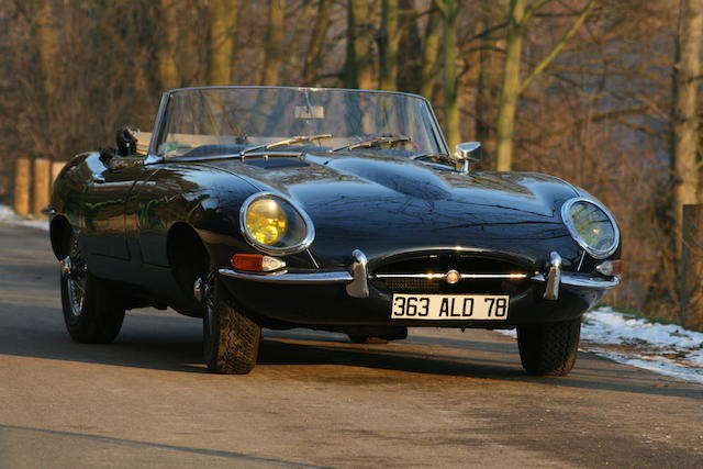 1962 Jaguar E-Type 3.8-Litre Series I Roadster  Chassis no. 876624