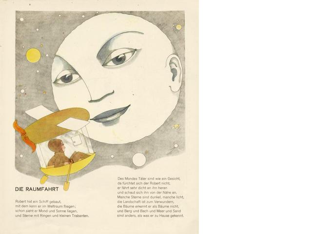 SEIDMANN-FREUD (TOM, pseudonym of MARTHA) Buch der erfüllten Wünsche. Ein bilderbuch