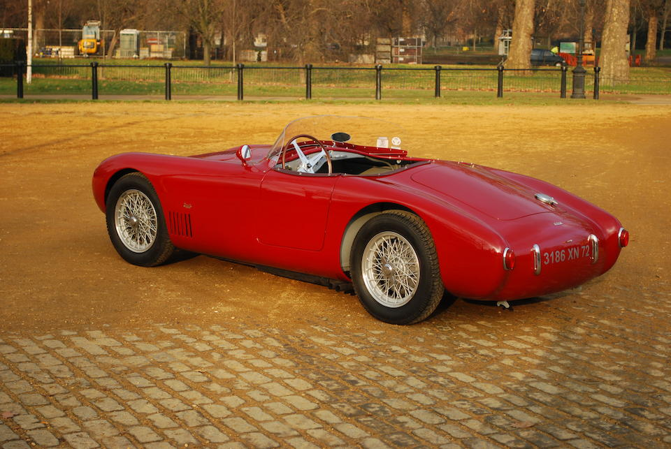 The ex-André Testut,1955 OSCA 1.5-Litre Sports  Chassis no. 1154 Engine no. 1409