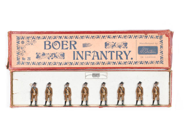 Britains set 26, Boer Infantry 8
