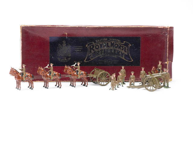 Britains RARE set 318, Royal Horse Artillery at the Halt 17
