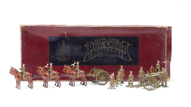 Britains RARE set 318, Royal Horse Artillery at the Halt 17