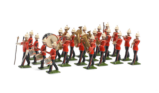 Britains RARE set 1622, Band of the Royal Marine Light Infantry 21
