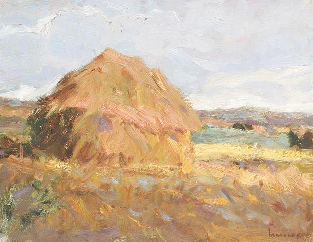 Ken Moroney (British, born 1949) Haystack