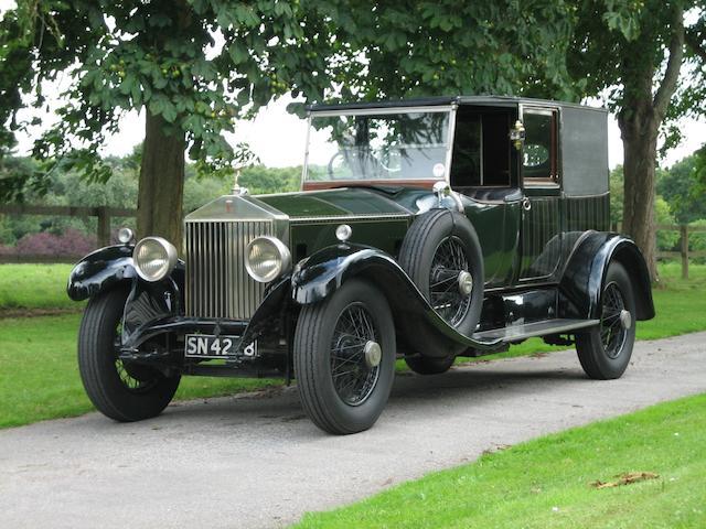 The 1928 Scottish Motor Show,1927 Rolls-Royce 40/50hp Phantom I Brougham de Ville  Chassis no. 63RF Engine no. FV35