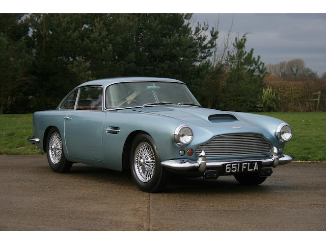 1960 Aston Martin DB4 Series II  Chassis no. DB4/542/R Engine no. 370/523