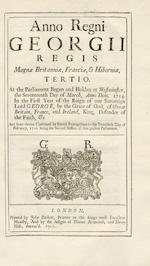 STATUTES Statutes 1688-1831, 156 vol.