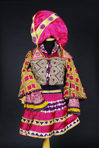 A costume from the Ballet Russes, designed by Leon Bakst