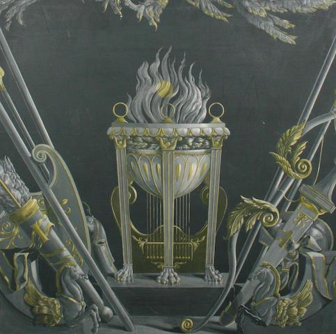 Robin Ironside (1912-1965) A fire screen