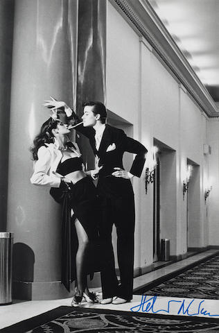 Helmut Newton (German, 1920-2004) 'Woman into Man, Y.S.L.'