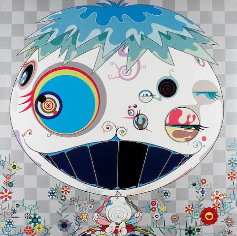 Takashi Murakami (Japanese, born 1962) 'Jellyfish', 2006