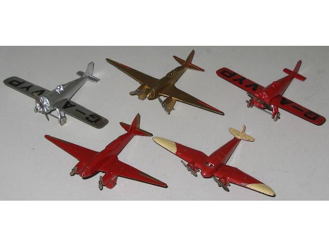 Dinky (pre-war) aircraft 5