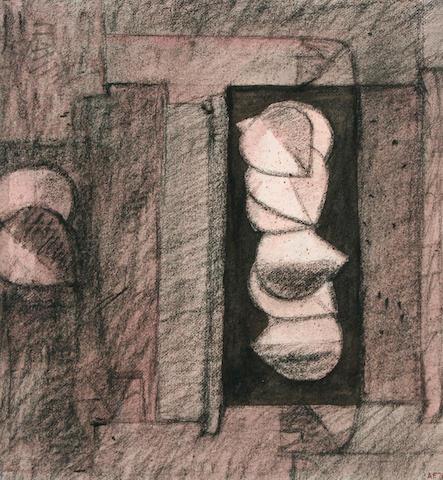 Alexander Fraser (British, born Aberdeen 1940) 'Working drawing no 4'