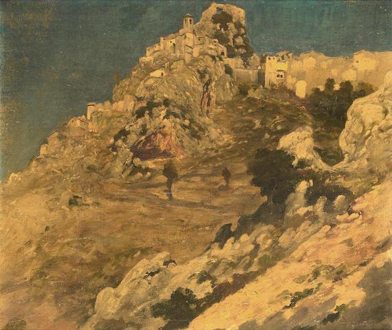 Frederic, Lord Leighton, PRA (British, 1830-1896) Cervara, near Rome