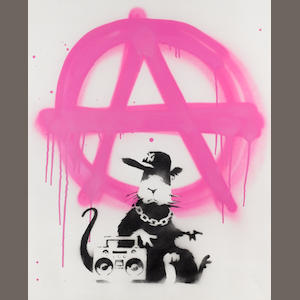 Banksy (British, born 1975) 'Anarchy Rat', 2006