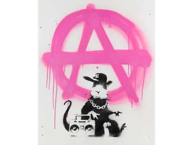 Banksy (British, born 1975) 'Anarchy Rat', 2006