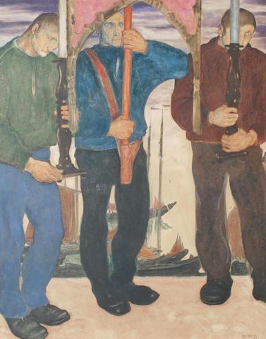 Antoine (Anto) Carte (Belgian, 1886-1954) Porteur de Reliques