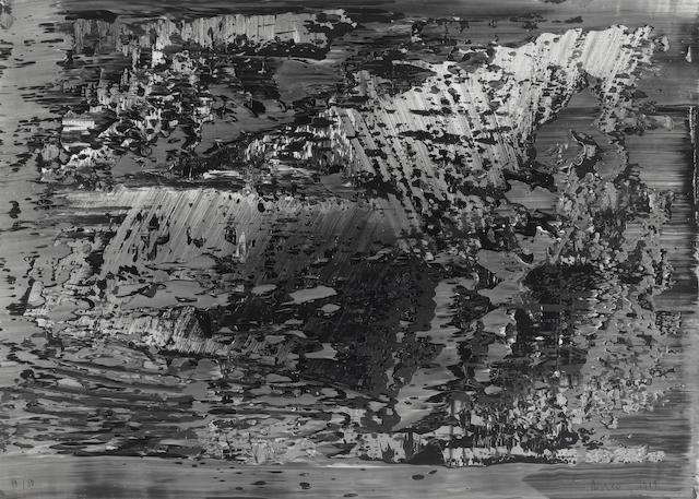 Gerhard Richter (German, born 1932) 'Uran', 1989