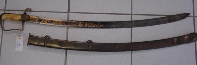 A Scarce Georgian Officer's Sabre To The Royal Regiment Of Artillery