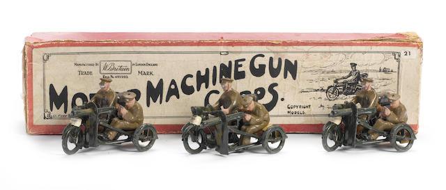 Britains set 199, Motor Machine Gun Corps 6