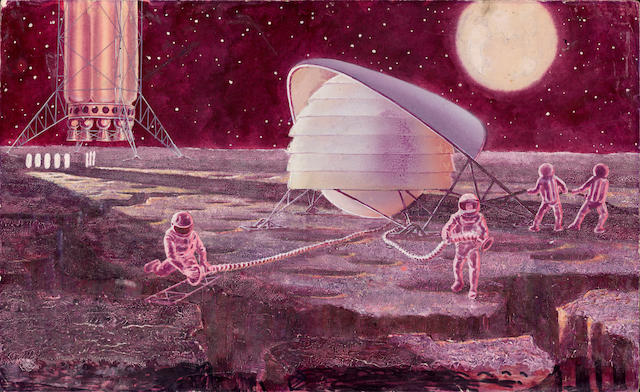 SOKOLOV (ANDREI) 'Power Station on the Moon'