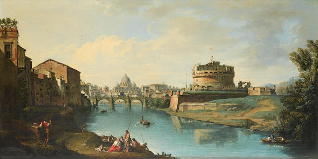 (n/a) Giuseppe Zocchi (Florence 1711-1767) View of the Tiber