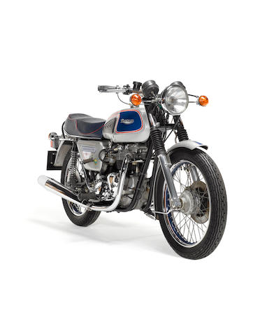 One owner, 115 miles from new,1977 Triumph 744cc T140 'Silver Jubilee' Bonneville  Frame no. EP83800