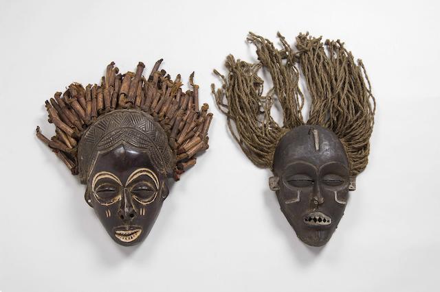 A Chokwe mask