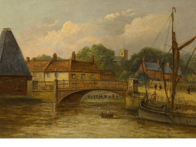 Christopher Mark Maskell (1846-1933) Stoke Bridge, Ipswich