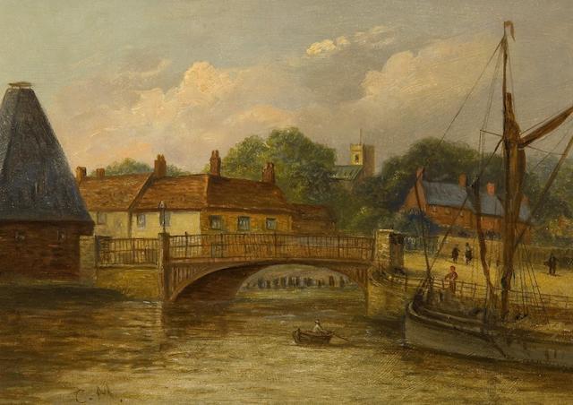 Christopher Mark Maskell (1846-1933) Stoke Bridge, Ipswich