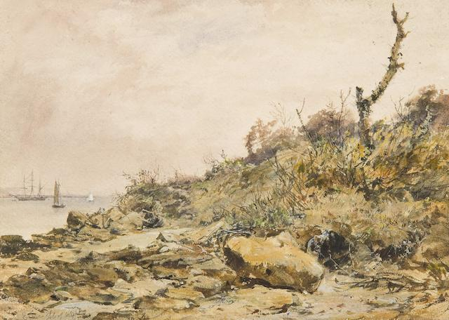 Jules Lessore (French/British, 1849-1892) E. Cowes, Isle of Wight