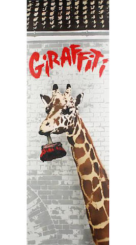 Nick Walker (British, born 1969) 'Giraffiti', 2009