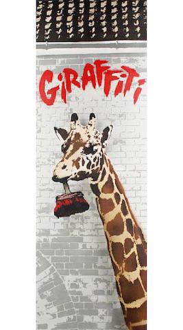Nick Walker (British, born 1969) 'Giraffiti', 2009