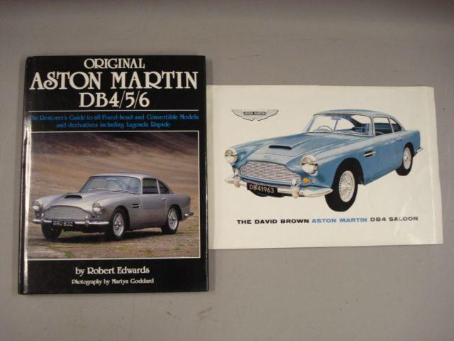 Two items of Aston Martin DB4 literature,