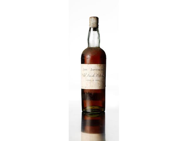 John Jameson's Old Irish Whiskey-Bonded 1885