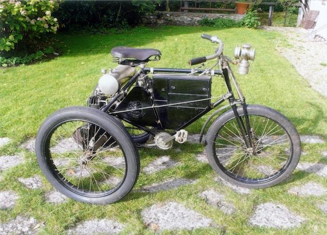 c.1898 De Dion Bouton Tricycle,