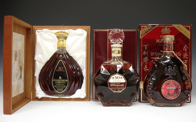 Courvoisier XO ImperialBisquit XO ExcellencePrince Hubert de Polignac Cognac Extra