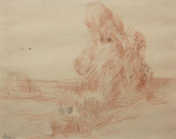 Maximilien Luce (French, 1858-1941) 21 x 28cm.