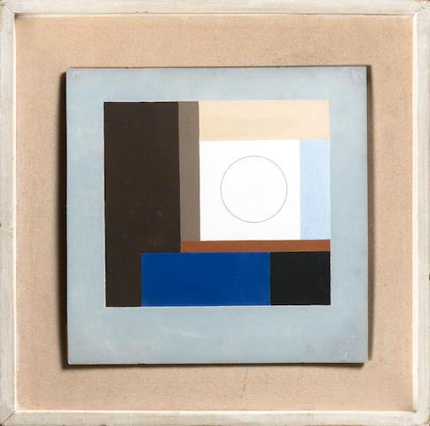 Ben Nicholson O.M. (British, 1894-1982) Untitled 25.5 x 25.5 cm. (10 x 10 in.)