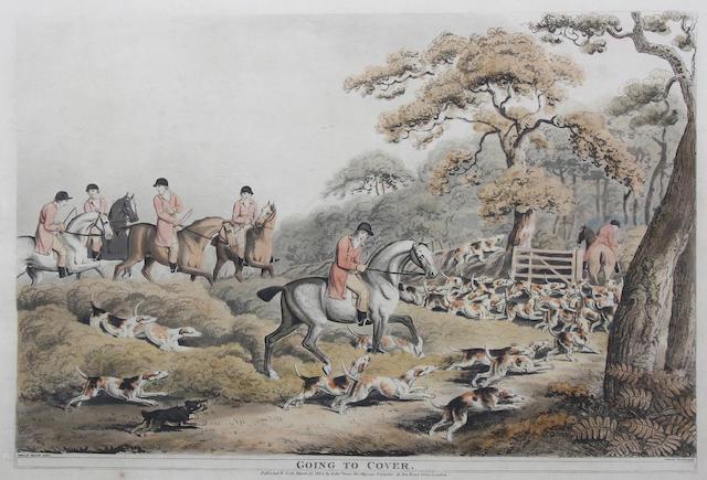 Samuel Howitt (British, 1756-1822) Pl. 37.5 x 50cm. ((6))
